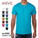 Tシャツ メンズ 半袖 無地 アダルト ライトウエイトTシャツ Anvil(アンビル) anvl980