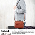 青木鞄 Lugard 本革ミニショルダーバッグ メンズ 日本製 レザー 2way