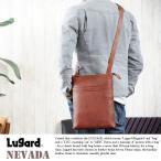 青木鞄 Lugard 本革ショルダーバッグ メンズ 日本製 B5 レザー 縦型