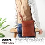 青木鞄 Lugard 本革ショルダーバッグ メンズ 日本製 レザー B5 縦型