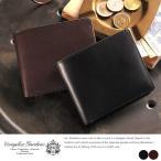 青木鞄 二つ折り財布 メンズ 本革 小銭入れあり 坐臥 COMPLEX GARDENS