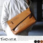 本革ショルダーバッグ メンズ 斜めがけ A4サイズ TRICKSTER トリックスター ERIC2