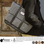 男性用 ハリスツイード バッグ トート A4 ヘリンボン 鞄 かばん