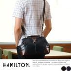 HAMILTON 2wayミニダレスバッグ メンズ ミニショルダーバッグ 合皮