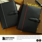 BRIT HOUSE カーボンレザーシステム手帳 A5サイズ Carbon Split Leather