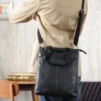 ショルダーバッグ メンズ 斜めがけ A4 豊岡鞄 スリム HAMILTON