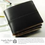青木鞄 二つ折り財布 メンズ 本革 小銭入れあり 枯淡 COMPLEX GARDENS