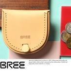 BREE ブリー 馬蹄型コインケース Mサイズ ヌメ革 本革 メンズ NATURE J10