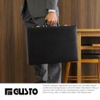 GUSTO ハードアタッシュケース B4対応 ダイヤルロック メンズ ビジネス