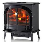 本物のような炎を手軽に【DIMPLEX/ディンプレックス】電気暖炉ヒーターBurgate(バーゲイト)BRG12J