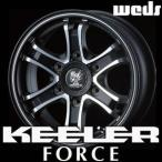 WEDS KEELER FORCE 15inch 6.0J PCD:139.7 穴数:6H カラー:MAT BLACK POLISH ウェッズ アドベンチャー キーラー フォース