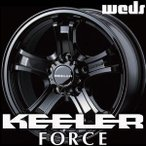 WEDS KEELER FORCE 16inch 7.0J PCD:114.3 穴数:5H カラー:GLOSS BLACK ウェッズ アドベンチャー キーラー フォース