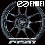ENKEI PF01 17inch 6.5J PCD:100 穴数:4H カラー: Matte Black エンケイ ホイール
