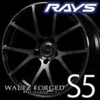 RAYS WALTZ FORGED S5 18inch 7.5J PCD:114.3 穴数:5H カラー: KK レイズ ヴァルツフォージド
