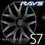 RAYS WALTZ FORGED S7 18inch 8.0J PCD:100 穴数:5H カラー: KK レイズ ヴァルツフォージド