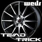 WEDS TEAD TRICK 16inch 6.5J PCD:114.3 穴数:5H カラー:ブラックメタリック/ポリッシュ ウェッズ テッド トリック