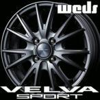 WEDS VELVA SPORT 15inch 4.5J PCD:100 穴数:4H カラー:DEEP METAL ウェッズ ヴェルバ スポルト