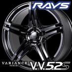 RAYS VERSUS VARIANCE V.V.5.2S 19inch 8.0J PCD:100 穴数:5H カラー: VH/VV レイズ ベルサス ヴェリエンス