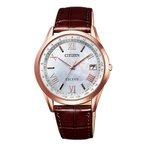 CITIZEN EXCEED シチズン エクシード エコ・ドライブ電波時計 ペアモデル メンズ腕時計 CB1112-07W
