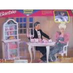 ショッピングused バービー Barbie DINING ROOM プレイセット Can Be Used w FOLDING プリティ ハウス (199[海外取寄せ品]