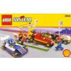 レゴ シェル Promotional セット: PIT ストップ セット #2554[海外取寄せ品]