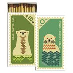 HomArt Matches - Stamp, クマ & Otter (Set of 12)(海外取寄せ品)