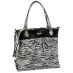 Hadaki Tote Around Pod Tote,Leopard Black/White,one size