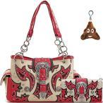 Cowgirl Trendy Concealed Carry Belt Purse Handbag Should