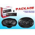 ショッピングPackage PACKAGE ! パイオニア DEH-150MP CD-レシーバ + パイオニア TS-A6975R Car スピーカー(海外取寄せ品)