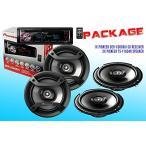 ショッピングPackage PACKAGE ! パイオニア DEH-X3600UI CD-レシーバ + Two セット パイオニア TS-F1634R Car (海外取寄せ品)