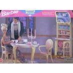 ショッピングused バービー Barbie DINING ROOM プレイセット Can Be Used w FOLDING プリティ ハウス (1996 海外取寄せ品