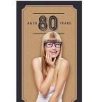 80th Milestone Birthday - Dashingly エイジ to Perfection - Birthday パーテ海外取寄せ品