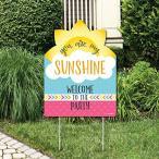 You Are My Sunshine - パーティー デコレーション - Birthday パーティー or ベビー Shower W海外取寄せ品