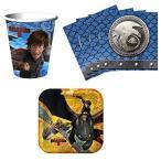 How to トレイン Your Dragon 2 Birthday パーティー サプライ セット プレート ナプキン カップ キット 海外取寄せ品