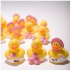 ファン エクスプレス ピンク ガール ラバー Duck ベビー Shower Birthday パーティー フェイバー - 72 ピース海外取寄せ品