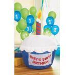 Airblown インフレータブル カップケーキ -ブルー by パーティー Destination海外取寄せ品