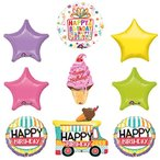 ショッピングアイスクリーム アイス クリーム チェリー On Top バルーン Birthday パーティー サプライ デコレーション海外取寄せ品