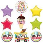 ショッピングアイスクリーム アイス クリーム Cone Sprinkles Birthday パーティー サプライ デコレーション バルーン キット海外取寄せ品