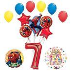 The アルティメイト スパイダーマン Spider-Man 7th Birthday パーティー サプライ and バルーン デコレー海外取寄せ品