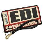ウォレット Clutch Airportcode EDI Edinburgh with リムーバブル Wristlet ストラップ (海外取寄せ品)