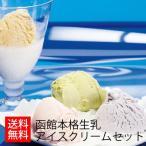 ショッピングアイスクリーム (産地直送/送料無料)函館本格生乳アイスクリームセット10 (-S9808-103A-)| 内祝い ギフト お祝