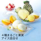 (産地直送・送料無料) 4種まるごと果実アイス詰合せ (-S9005-701A-) | 内祝い ギフト 出産内祝い 引き出物 結婚内祝い 快気祝い お返し 志