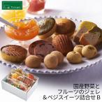 パティスリーポタジエ 国産野菜とフルーツのジュレ&ベジスイーツ詰合せ B PJZY-A5S (96010-02)