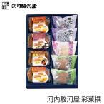 河内駿河屋 彩菓撰 SK-10 (-G1925-205-) (t0) | 内祝い お祝い まんじゅう 詰め合わせ 和菓子
