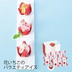 お中元 (産地直送・送料無料) 花いちごのバラエティアイス(博多あまおう) (-3011-902-) | 内祝い ギフト 出産内祝い 結婚内祝い