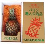 (産地直送/送料無料)沖縄県産最高級パイン タダオゴールド 232001 (V7018-194T)