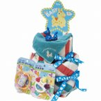 ロディ おむつケーキ ブルー ROC-100B (-C1072-039-) | 内祝い ギフト 出産内祝い 引き出物 結婚内祝い 快気祝い お返し 志