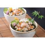 (産地直送/送料無料)北の8種の具材を使った海鮮丼の具(個食タイプ・8食) (344-515)