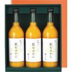 早和果樹園 有田みかんジュース「飲むみかん」3本セット W3-B (個別送料込み価格) (-0441-011-) | 内祝い ギフト 出産内祝い 快気祝い お返し 志