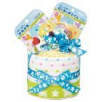 (送料込・送料無料) ロディ おむつケーキ1段 ブルー RRO-07BR (024-S010) (個別送料を含んだ価格です)